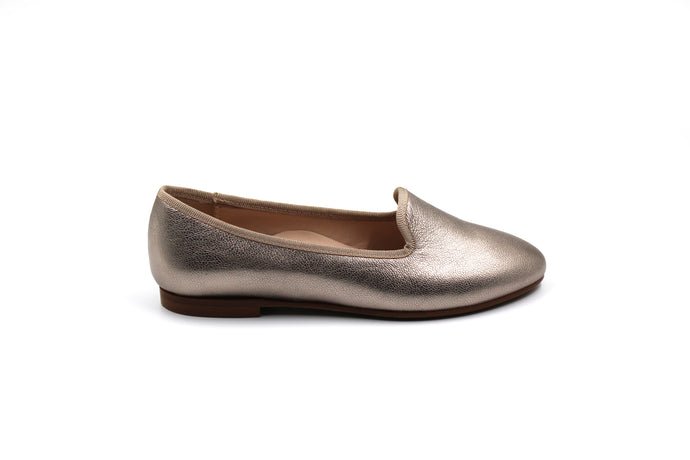 Beberlis Pewter Smoking Girls Shoe