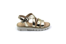 Beberlis Metallic Criss Cross Kids Girls Sandal