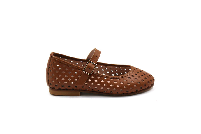 Eugens Ava Brown Mary Jane Dress Shoes