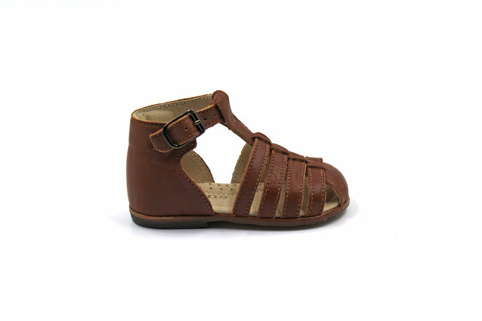 Eugens Jules Brown Kids Sandals