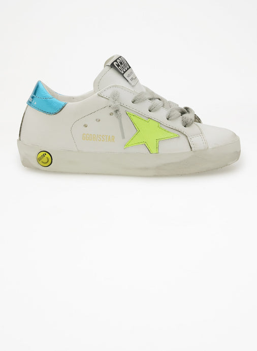 Golden Goose Neon Star Sneaker