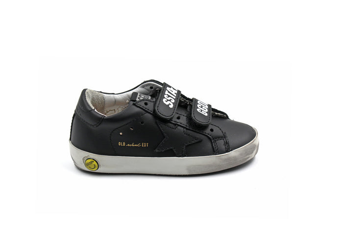 Golden Goose Black Velcro Sneaker