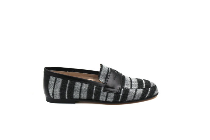 Hoo Plaid Penny Loafer