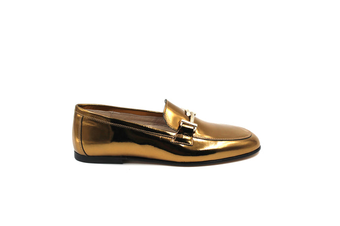 Hoo Bronze Buckle Loafer