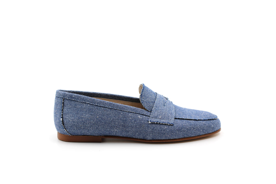 Hoo Denim Penny Loafer
