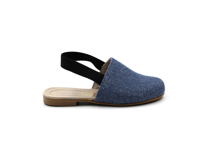 Hoo Denim Slingback