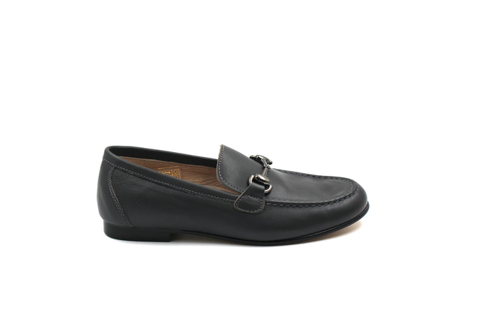 Hoo Gray Buckle Loafer