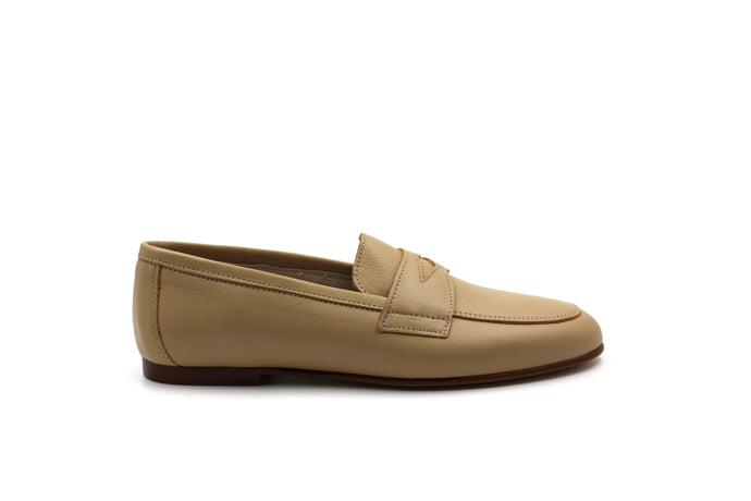 Hoo Nude Penny Loafer