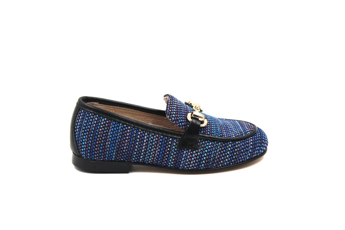Hoo Blue Stretch Loafer