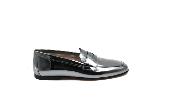 Hoo Pewter Penny Loafer