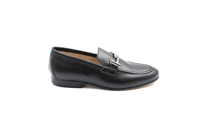 Hoo Black New Buckle Loafer