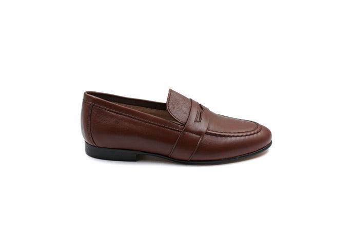 Hoo Brown Penny Loafer