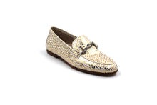 Girls Toddler Hoo Gold Speckled Buckle Loafer