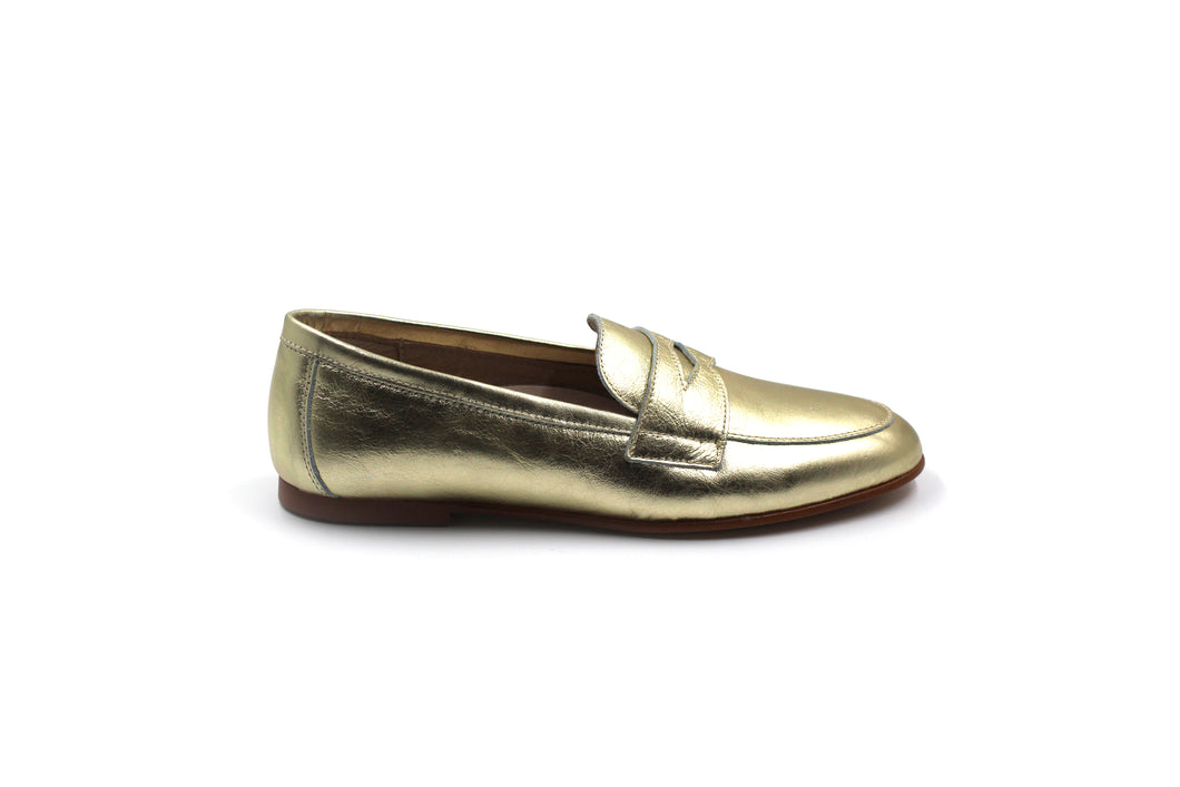 Hoo Gold Penny Kids Loafer