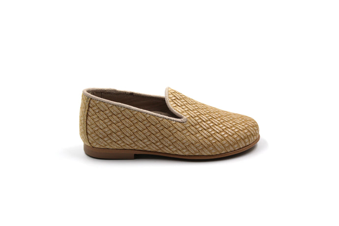 Hoo Natural Woven Smoking Shoe