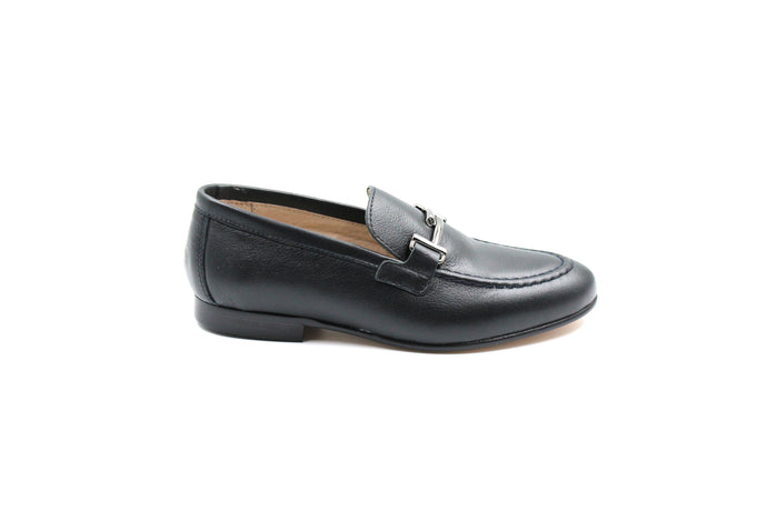 Hoo Navy New Buckle Loafer