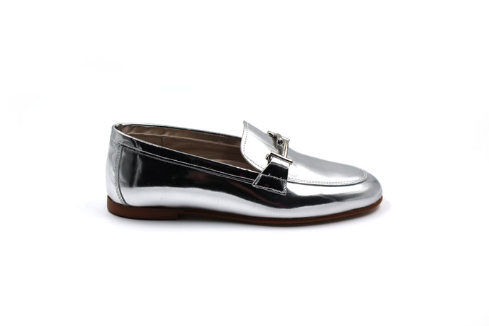 Hoo Mirrored Buckle Loafer