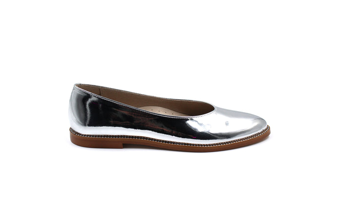 Hoo Silver Pointed Flat