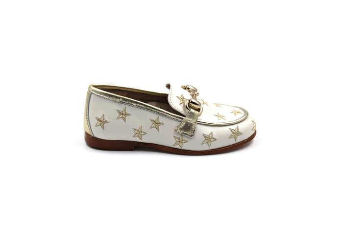 Hoo Gold Star Buckle Loafer