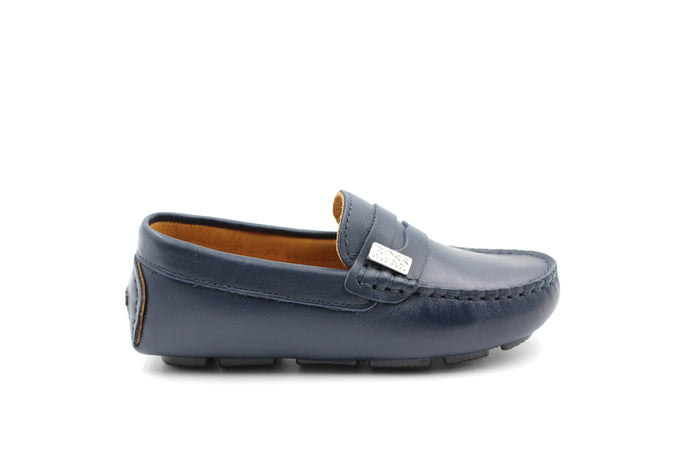 Hugo Boss Navy Loafer
