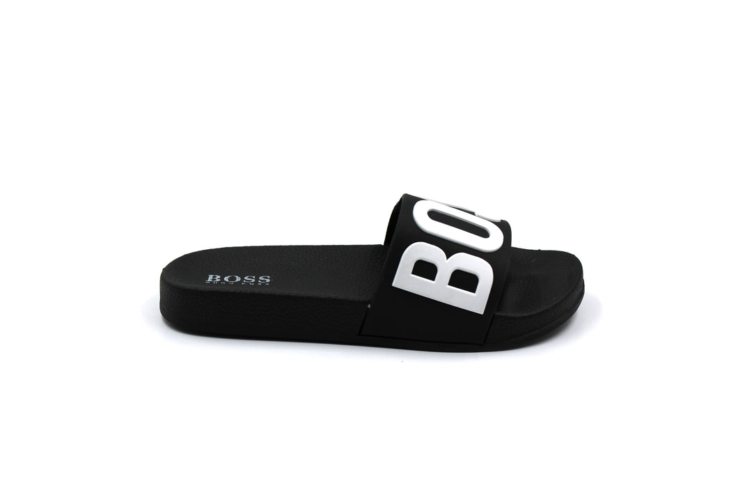 Hugo Boss Logo Slides Sandal kids toddler childrens