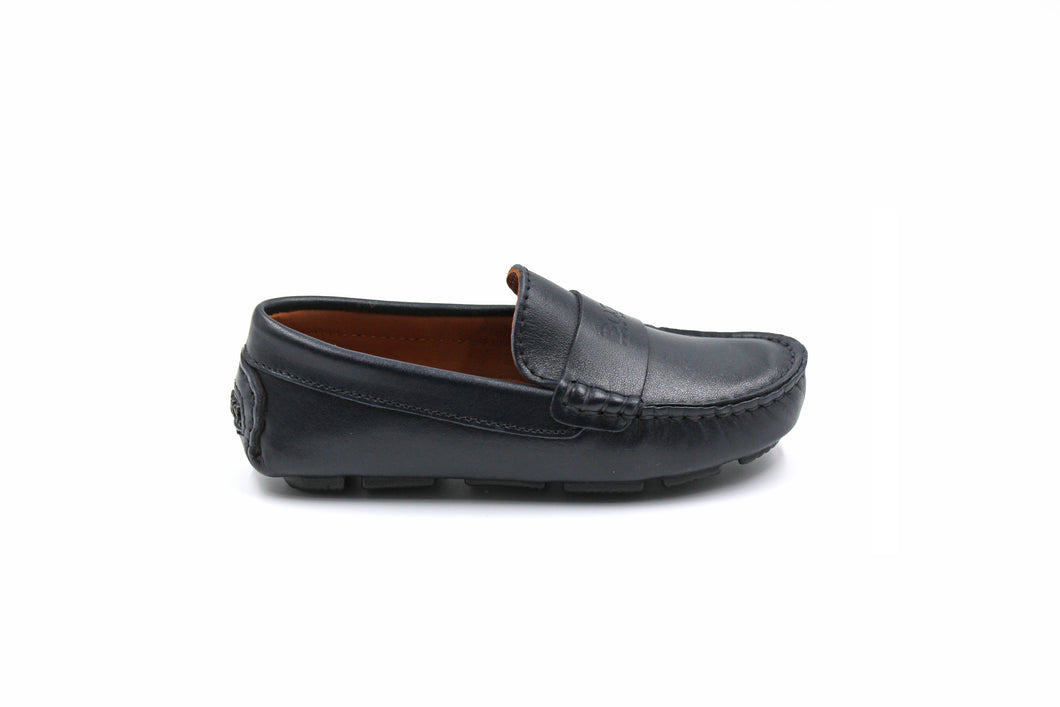 Hugo Boss Navy Loafer Dress Shoe Toddler Children