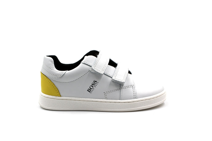 Hugo Boss White Velcro Sneaker