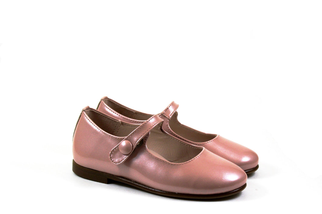 Beberlis Pink Patent Mary Jane girls Shoes