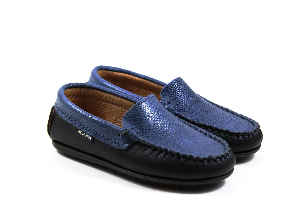 Atlanta Navy Loafer