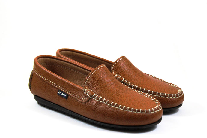 Atlanta Camel Loafers
