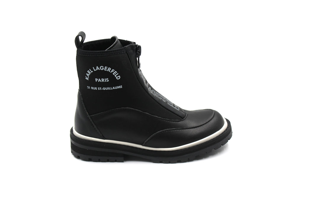 Karl Lagerfeld Zipper Boot