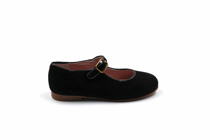 LMDI Black Suede Mary Jane