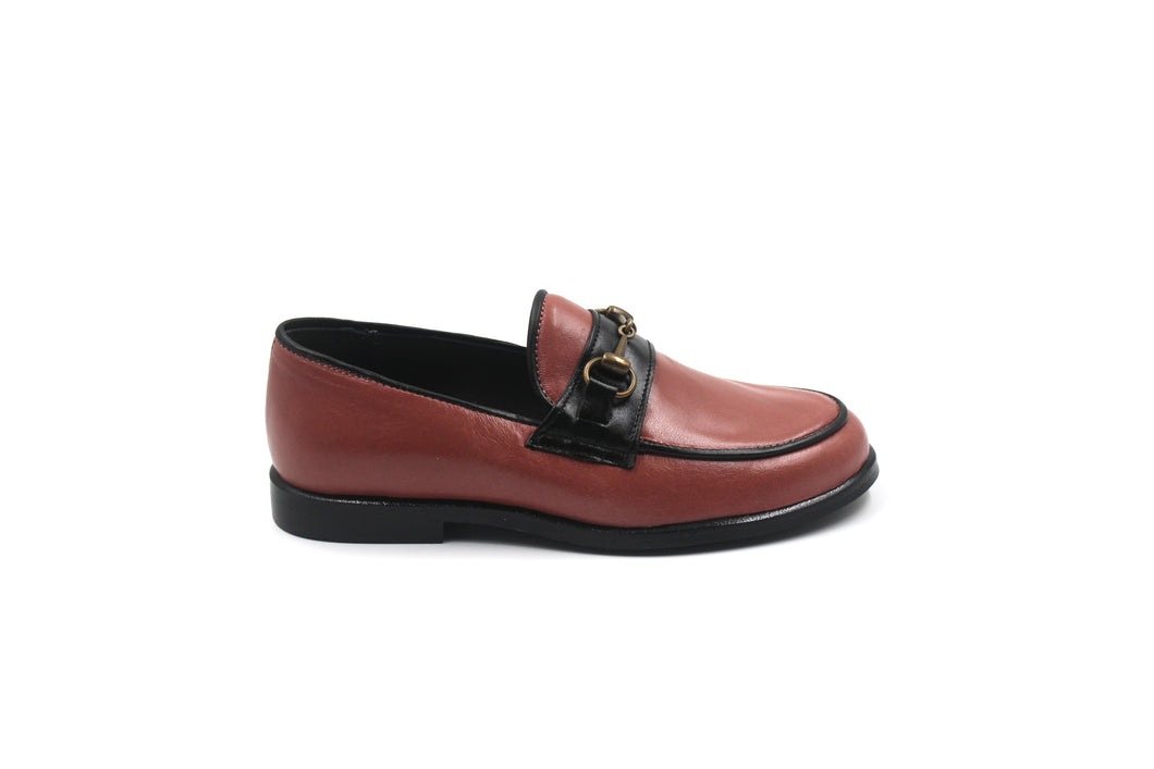 LMDI Pink Leather Loafer