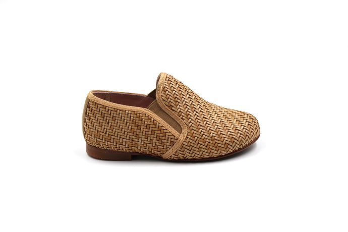 LMDI Camel Wicker Smoking Shoe