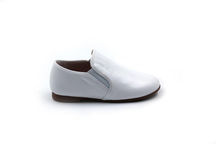 LMDI White Smoking Shoe