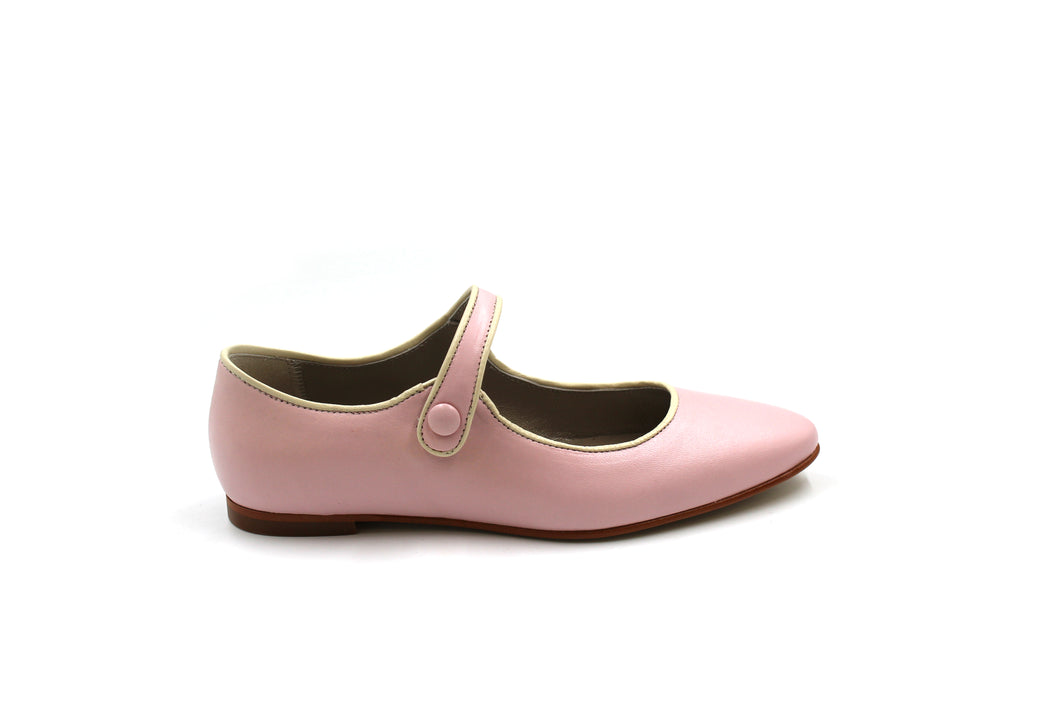 LMDI Pink Pointed Mary Jane
