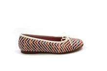 LMDI Multicolor Wicker Ballet Flat