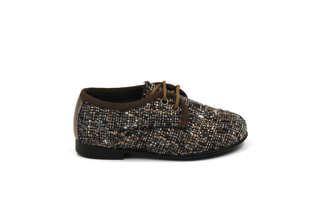 LMDI Brown Tweed Oxford