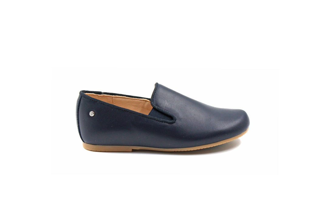 Manuela De Juan Navy Smoking Shoe