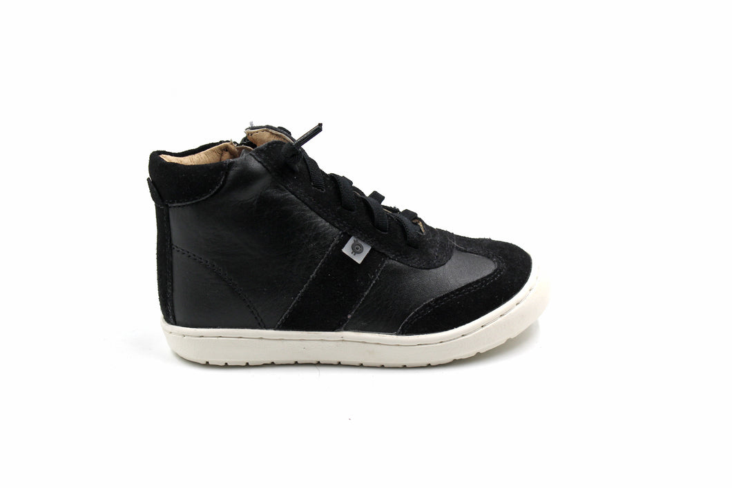 Old Soles Black High Top Sneaker