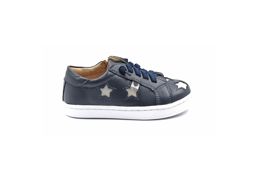 Old Soles Navy Star Sneaker