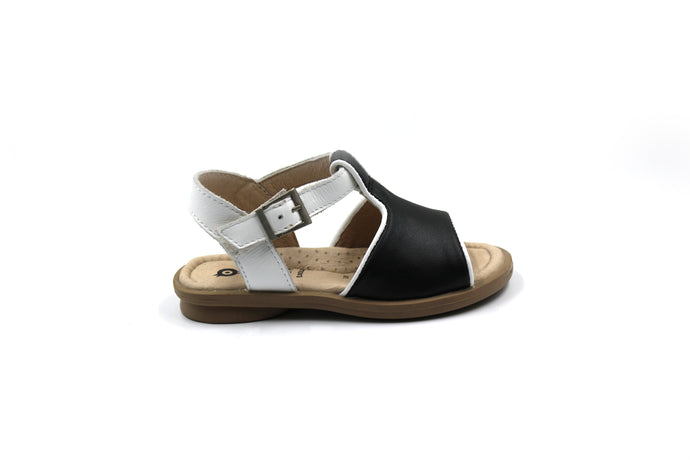 Old Soles Black and White Sandal