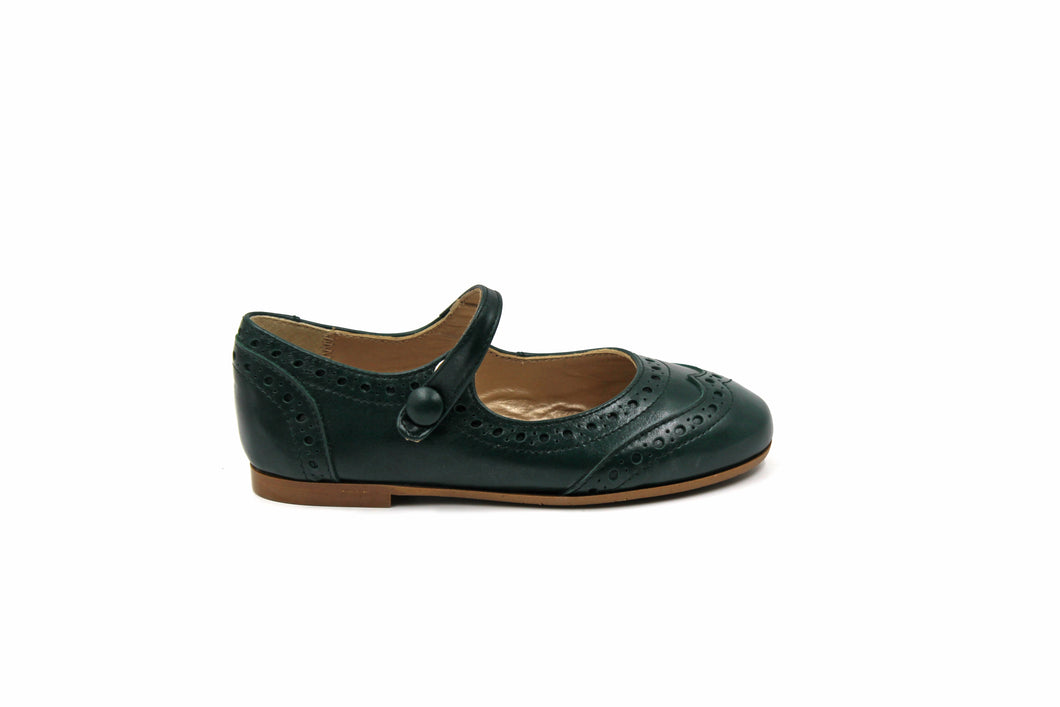 Papanatas Forest Wingtip Mary Jane