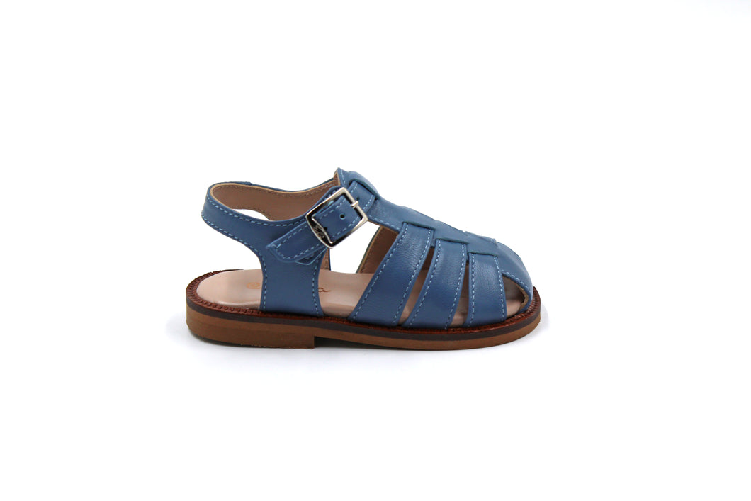 Papanatas Blue Closed Sandal