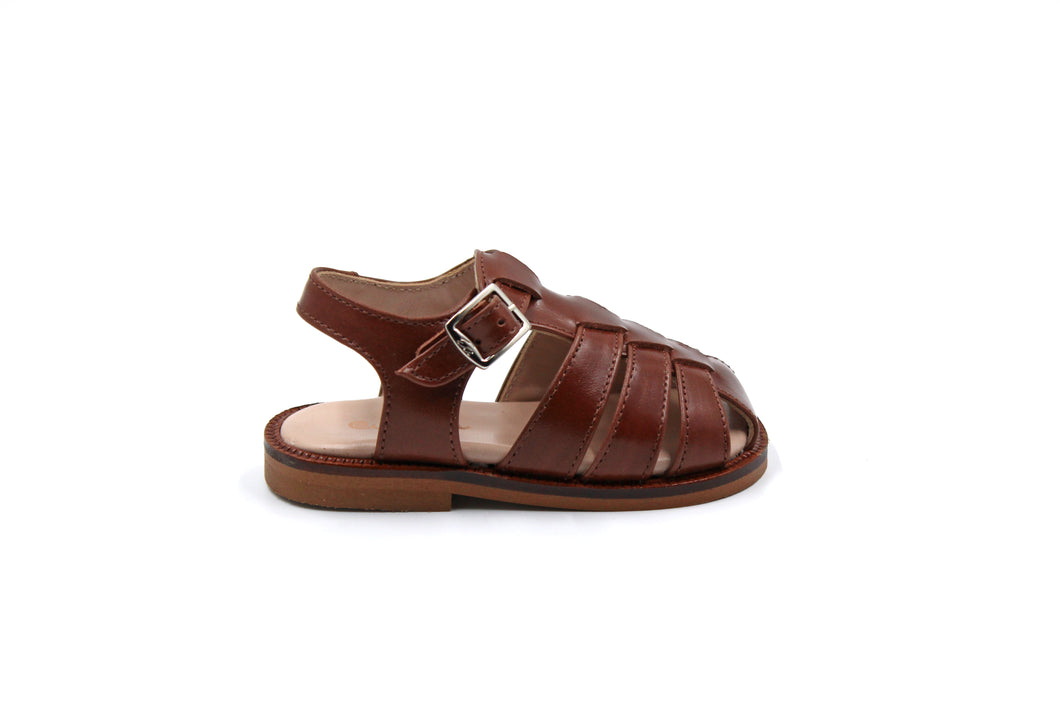 Papanatas Camel Closed Sandal