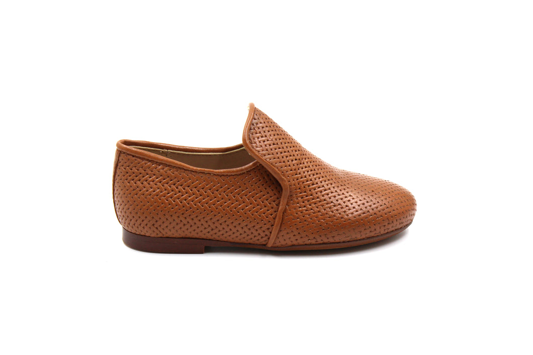 Papanatas Camel Weaved Smoking Shoe