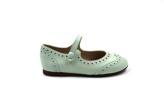 Papanatas Mint Wing Tip Mary Jane