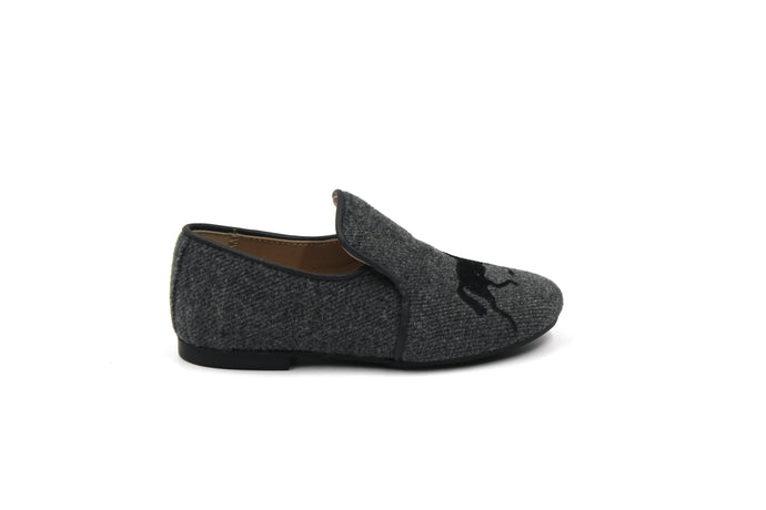 Papanatas Wool Horse Smoking Shoe