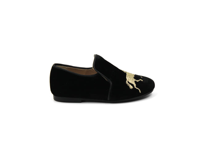 Papanatas Black Velvet Horse Smoking Shoe