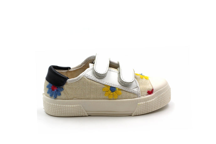 Pepe Floral Velcro Sneaker